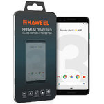 Haweel 9H Tempered Glass Screen Protector for Google Pixel 3 - Clear